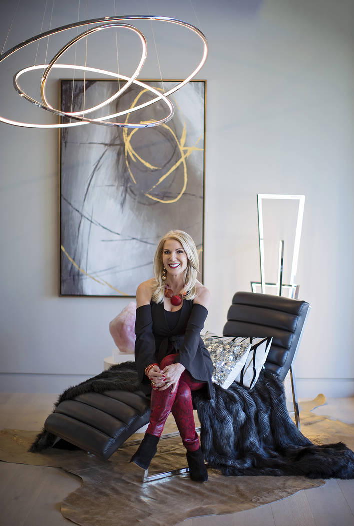 Celebrity interior designer Donna Moss of Dallas. (Donna Moss)
