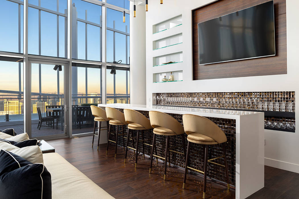 The home is on the 59th floor of Palms Place. (Turnkey Pads)