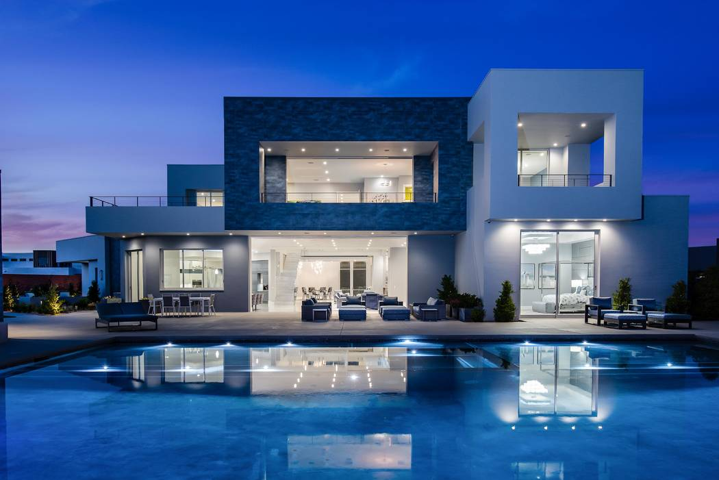 No. 4: 15 Flying Cloud Lane in The Ridges in Summerlin sold for $6.35 million. (Simply Vegas)