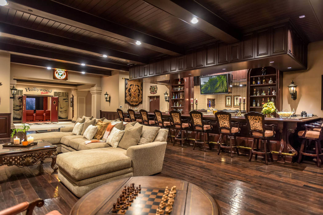 No. 2: 1198 MacDonald Ranch Drive in MacDonald Highlands in Henderson sold for $7 million. (War ...