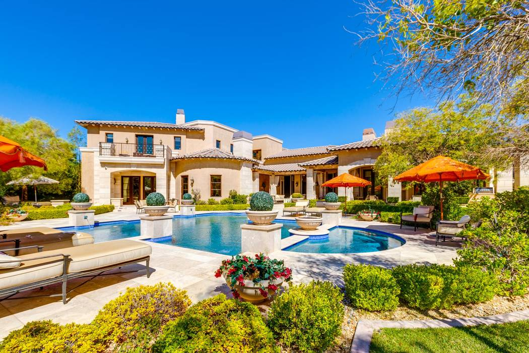 No. 9: 11 Sable Ridge Court in The Ridges in Summerlin sold for $5.25 million. (Ivan Sher Group)