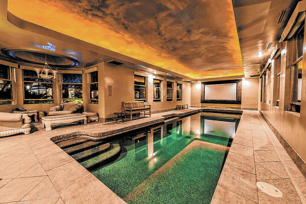 No. 6: 8101 Obannon Drive, north of Sahara Avenue near South Cimarron Road, sold for $6 million ...