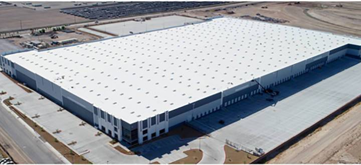 Raceway Industrial Park, a warehouse distribution facility, in northeast Las Vegas sold for $62 ...