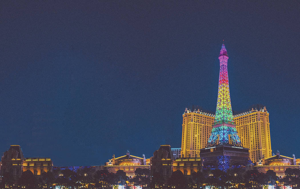 Caesars received a perfect score of 100 percent in the Human Rights Campaign Foundation's Cor ...