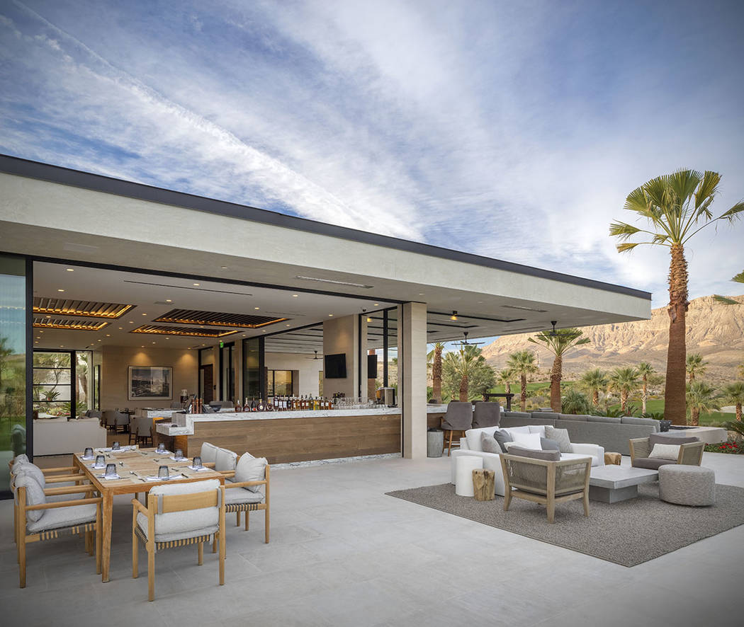 The Summit has completed a 7,000-square-foot golf house for dining and club events and entertai ...