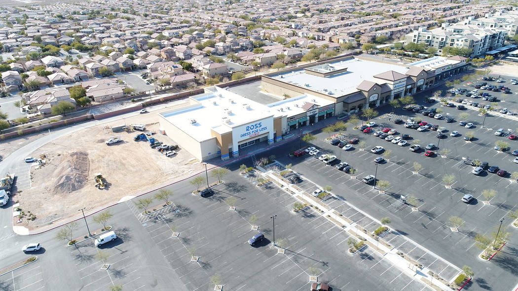 The final phase of Mountain's Edge Marketplace is expected to be completed later this year. ( ...