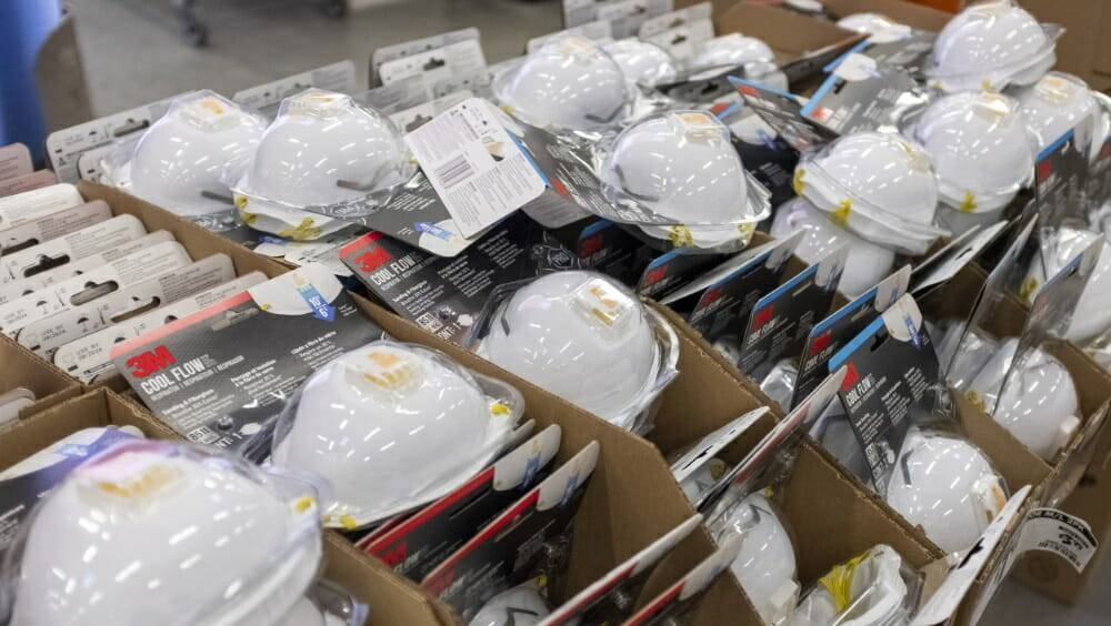 Nevada Subcontractors Association has collected 9,000 N95 masks for local health care workers. ...