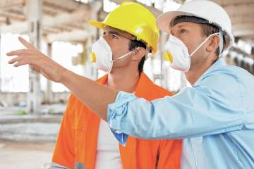 The Las Vegas Valley homebuilding industry has worked together to provide protective gear for l ...