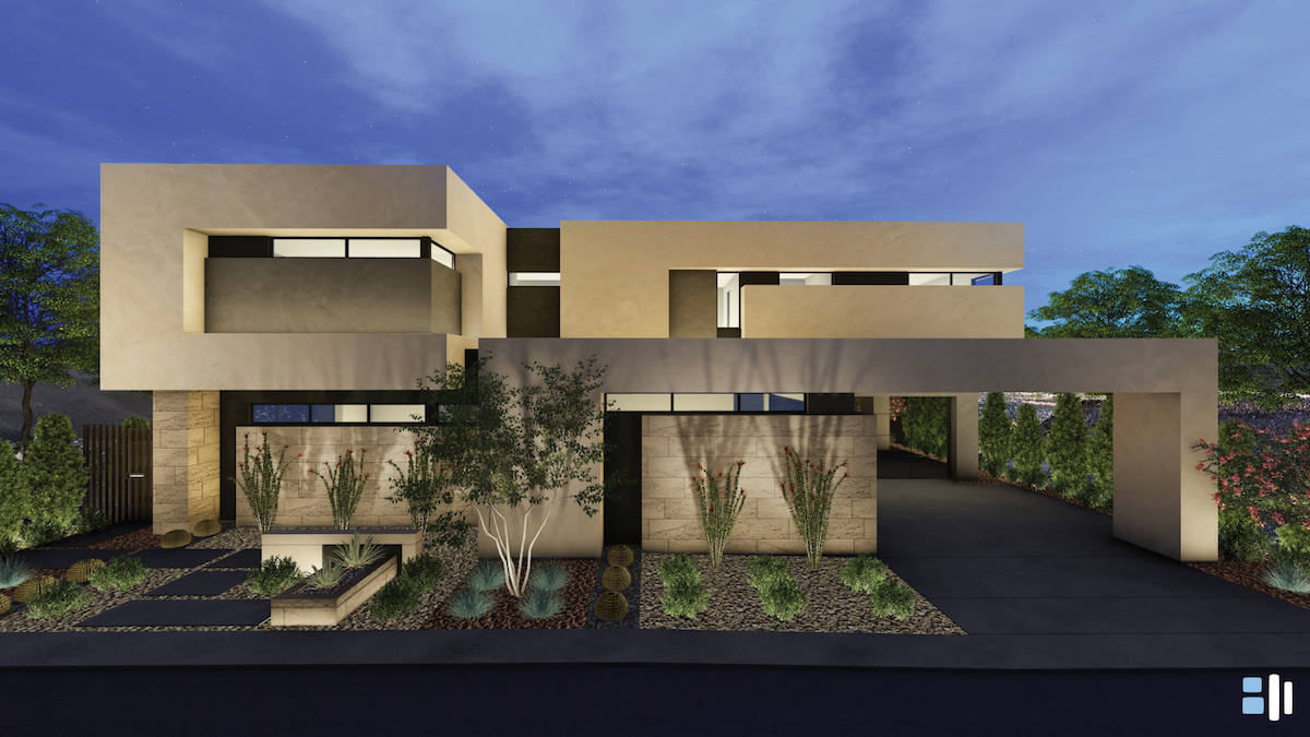 Blue Heron is building a new development, Dragon Rock, in MacDonald Highlands in Henderson. (Bl ...