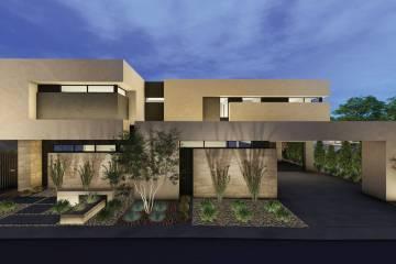 Blue Heron is building a new development, Dragon Rock, in MacDonald Highlands in Henderson. (Bl ...