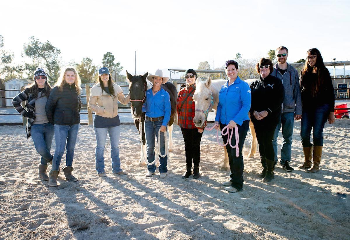 The Horsepower Mastermind program held its first event in January. (Tonya Harvey/Las Vegas Busi ...