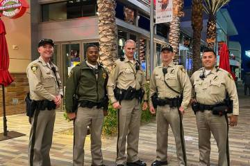 Summerlin corporate office had dozens of pizzas delivered to the Las Vegas Metropolitan Police ...