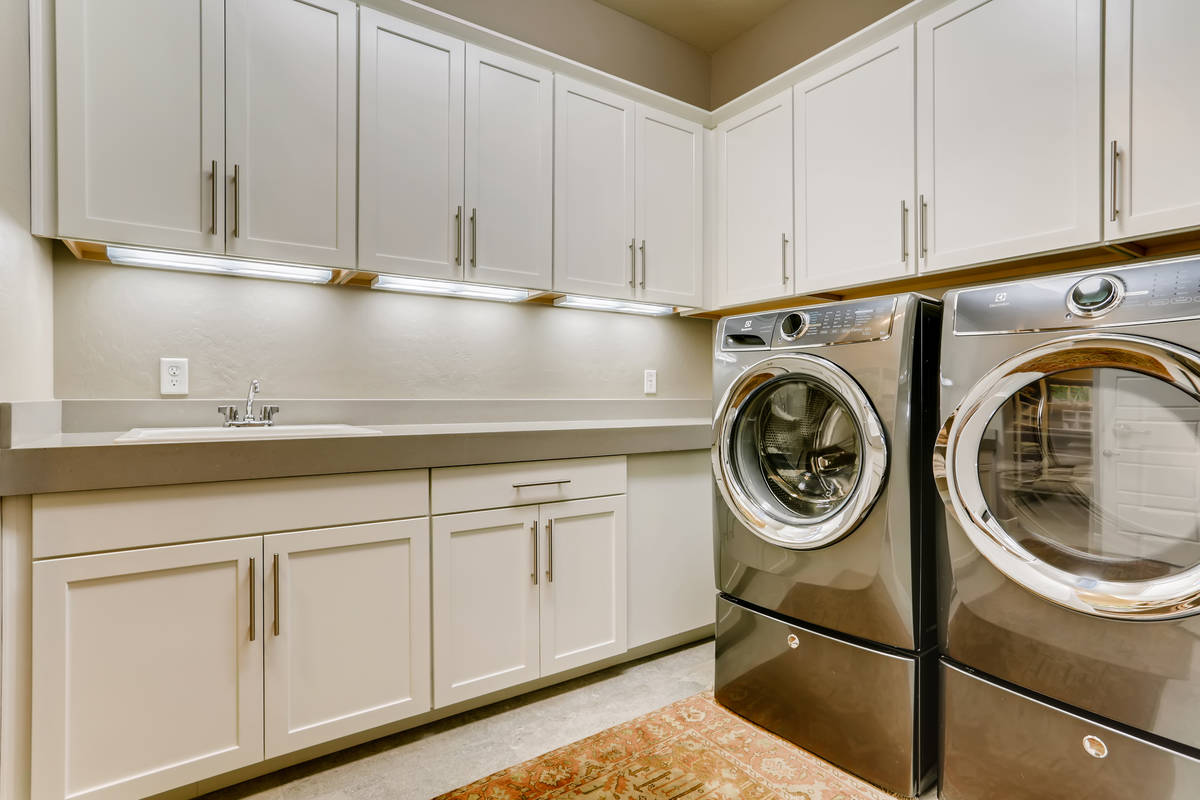 The laundry room. (Realty One Group)