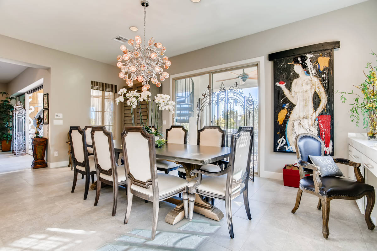The 4,119-square-foot home features a large formal dining room. (Realty One Group)