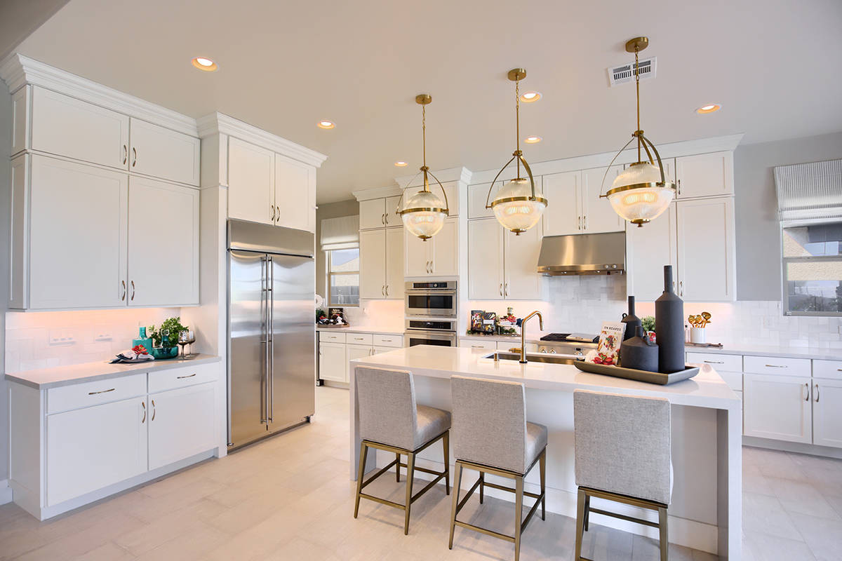 Richmond American Homes continues to see sales in its luxury home communities in Summerlin. (Ri ...