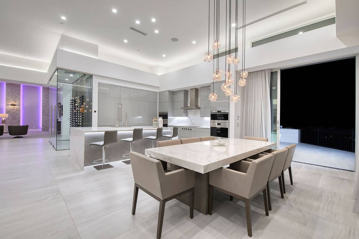This single-story home is part of the Richard Luke Collection, which sold for $3.75 million in ...