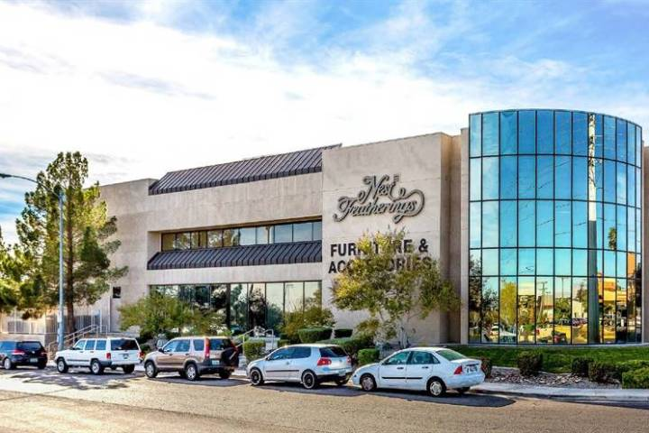 This office building at 6425 W. Sahara Ave. sold for $3,850,000. (Cushman & Wakefield )