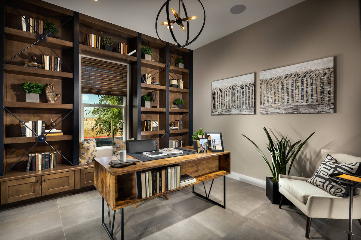 Toll Brothers Experts say the design of the home office will be a big consideration after the ...