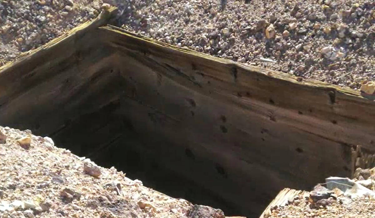 The 259-acre Black Butte Mine sits near Goldfield, about 184 miles from Las Vegas. It's listed ...