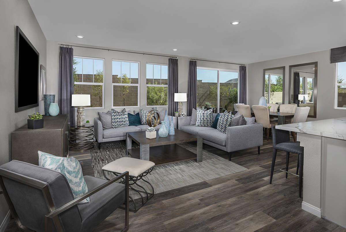 The Landings is a single-family home community at Henderson's Inspirada. It offers a large grea ...