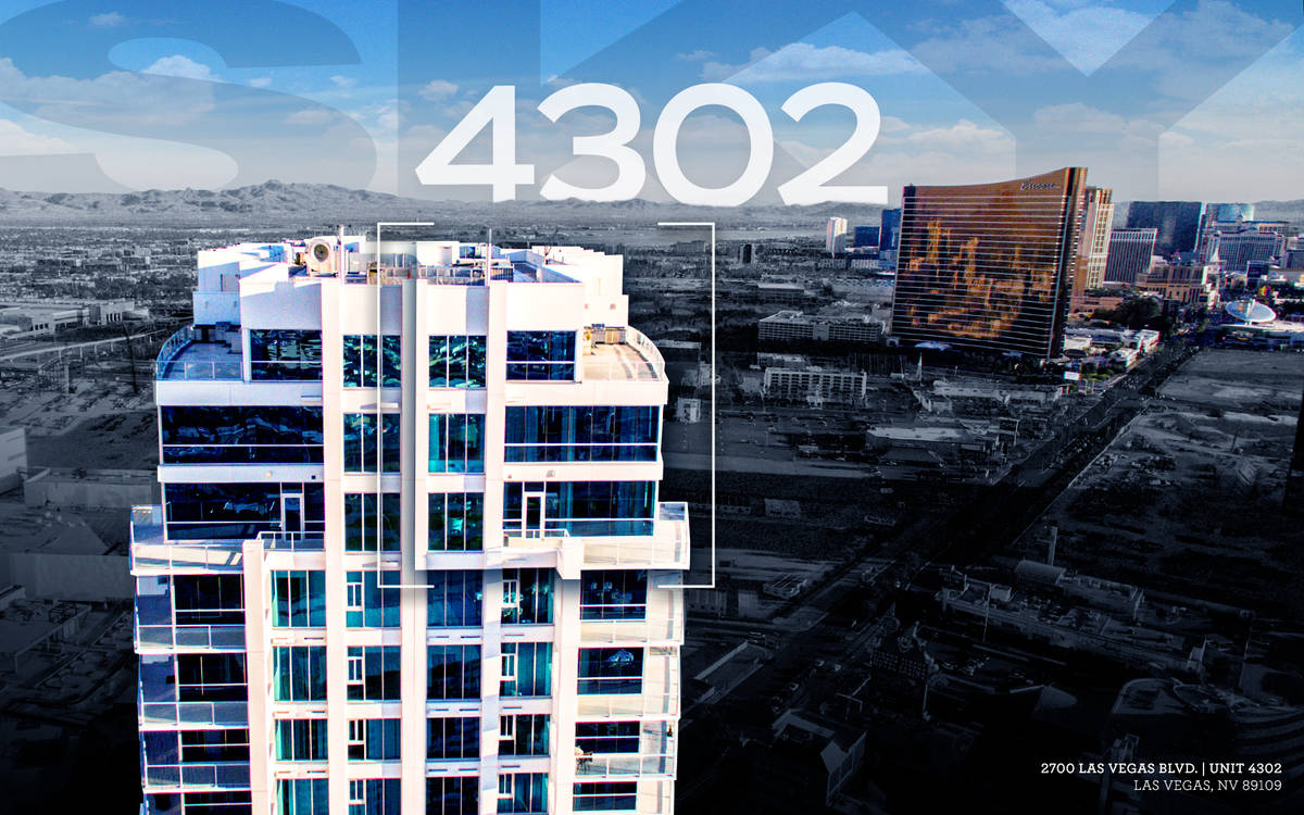 Sky Las Vegas is a 45-story luxury high-rise. (Ivan Sher Group)