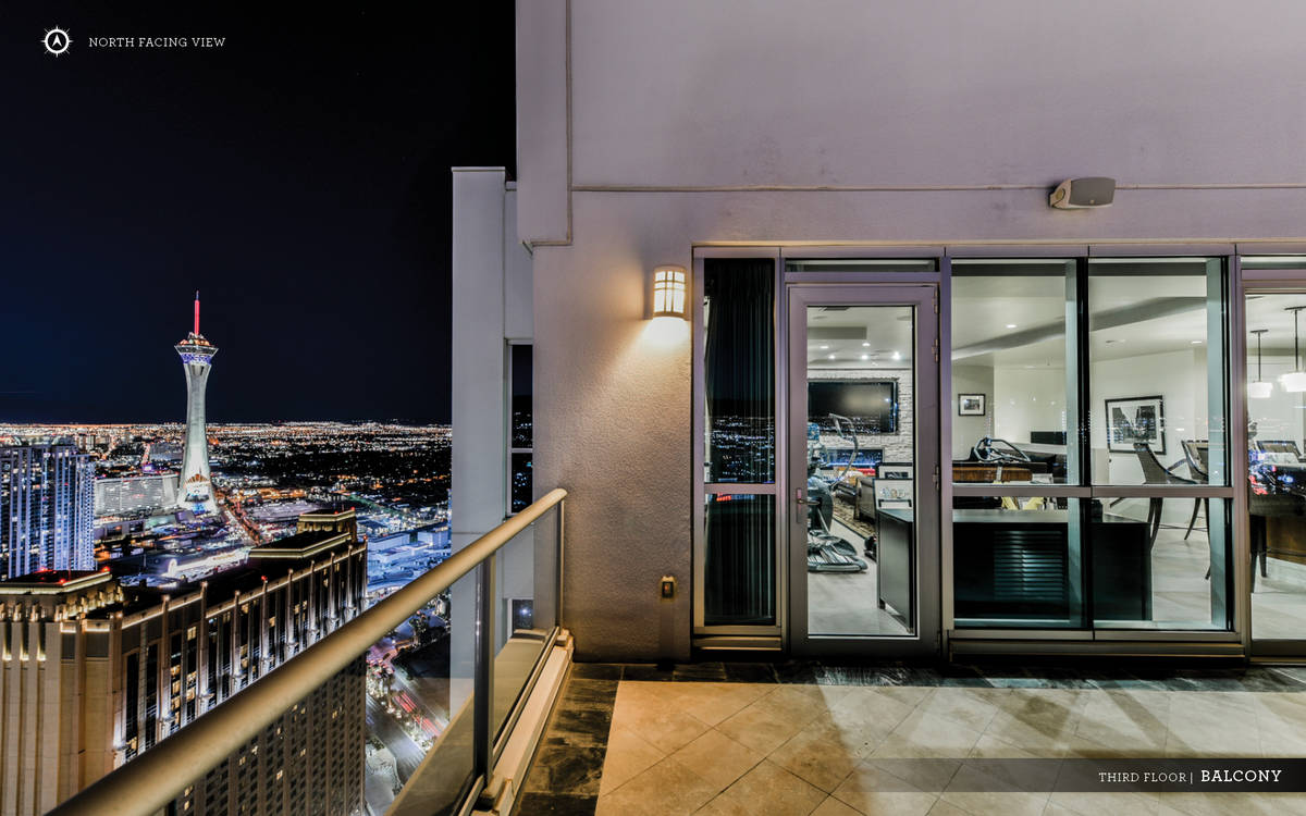 The Sky penthouse has its own rooftop terrace. (Ivan Sher Group)