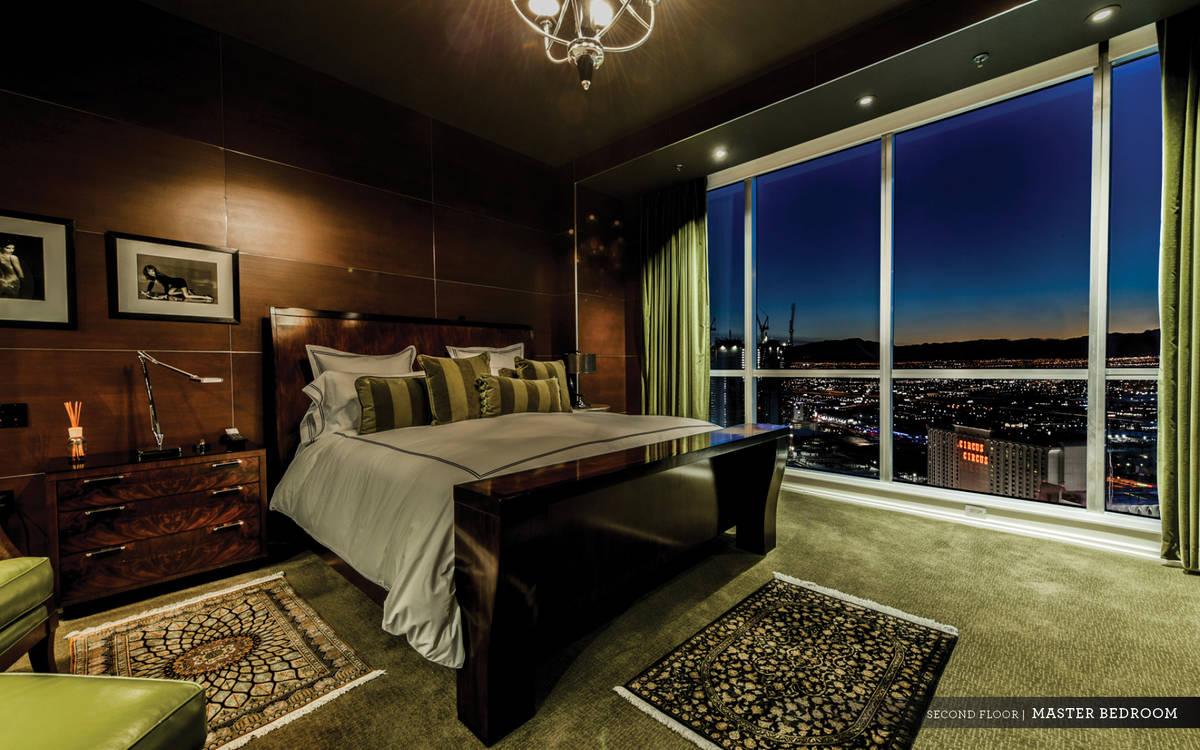 One of the three en suite bedrooms. (Ivan Sher Group)