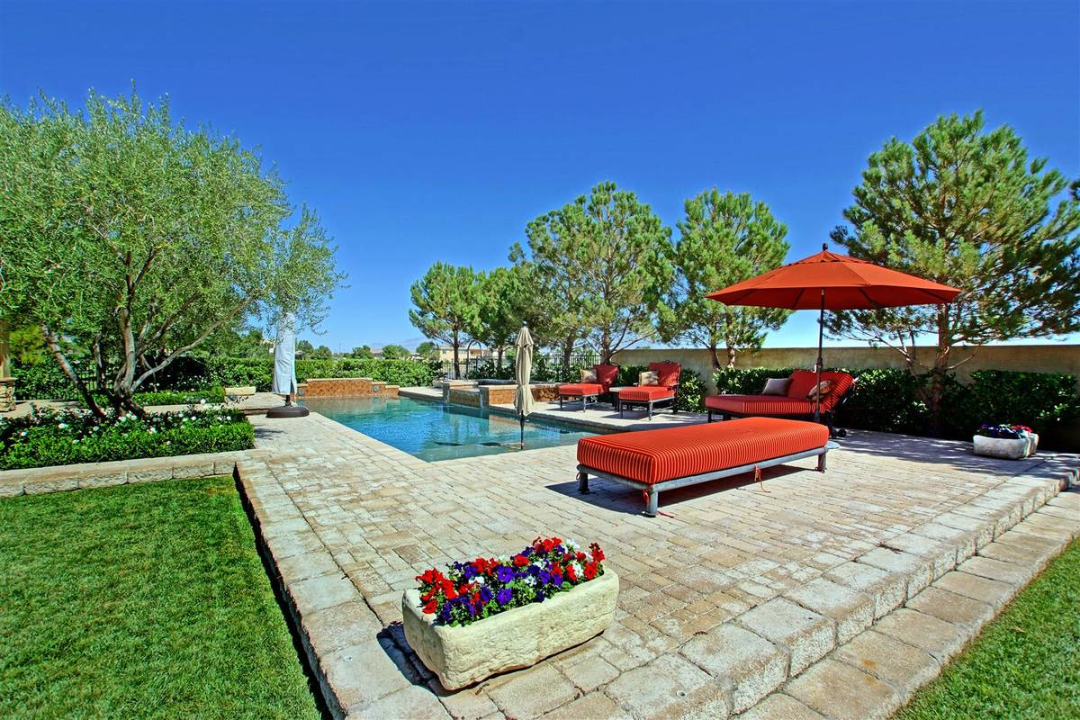 No. 5 on the list is a Tuscan and Santa Barbara-designed home at 9940 Orient Express Court in Q ...