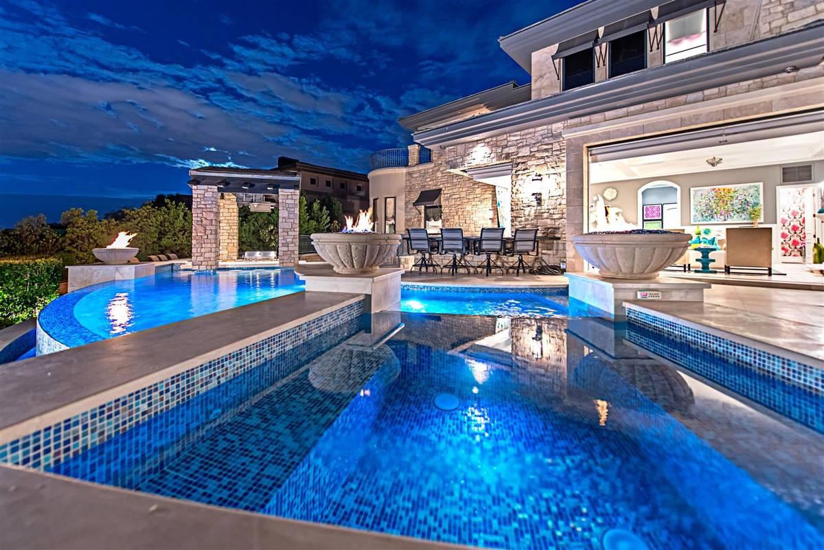 Former Major League Baseball player Aaron Rowand sold his Summerlin home he built in 2011. (Sim ...