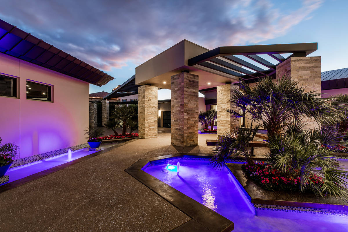 The home at 2673 Boboli Court in Seven Hills in Henderson sold for $4.26 million. (Ivan Sher Group)