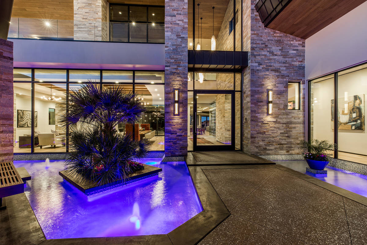 The Seven Hills home measures 8,452 square feet. (Ivan Sher Group)