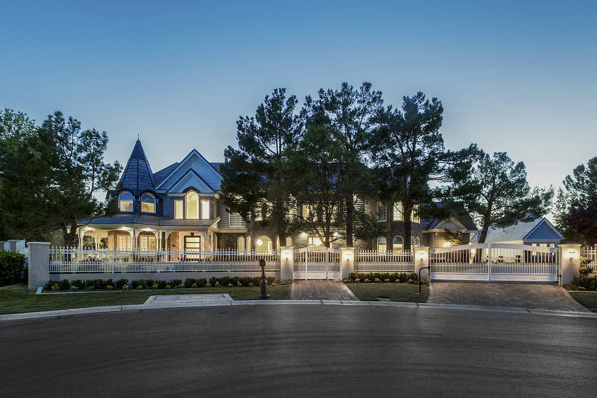 Las Vegas luxury Realtor Tom Love sold his Queensridge mansion to a Chinese investor for $5.88 ...