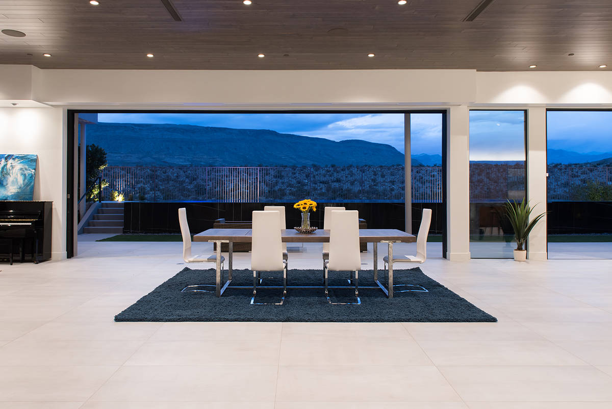 The No. 3 sale was 43 Morning Glow Lane in The Ridges for $4.5 million. (Simply Vegas)