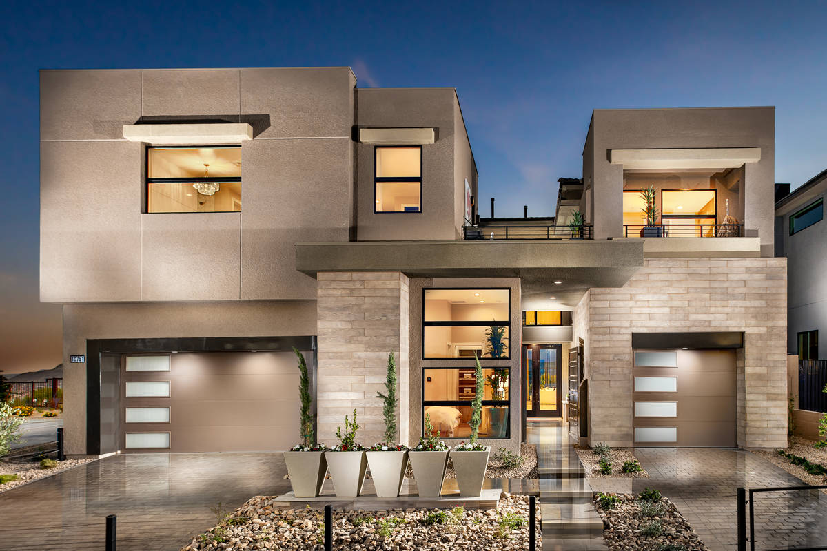 Toll Brothers Toll Brothers reports increased sales in its luxury new home offerings. Mesa Rid ...