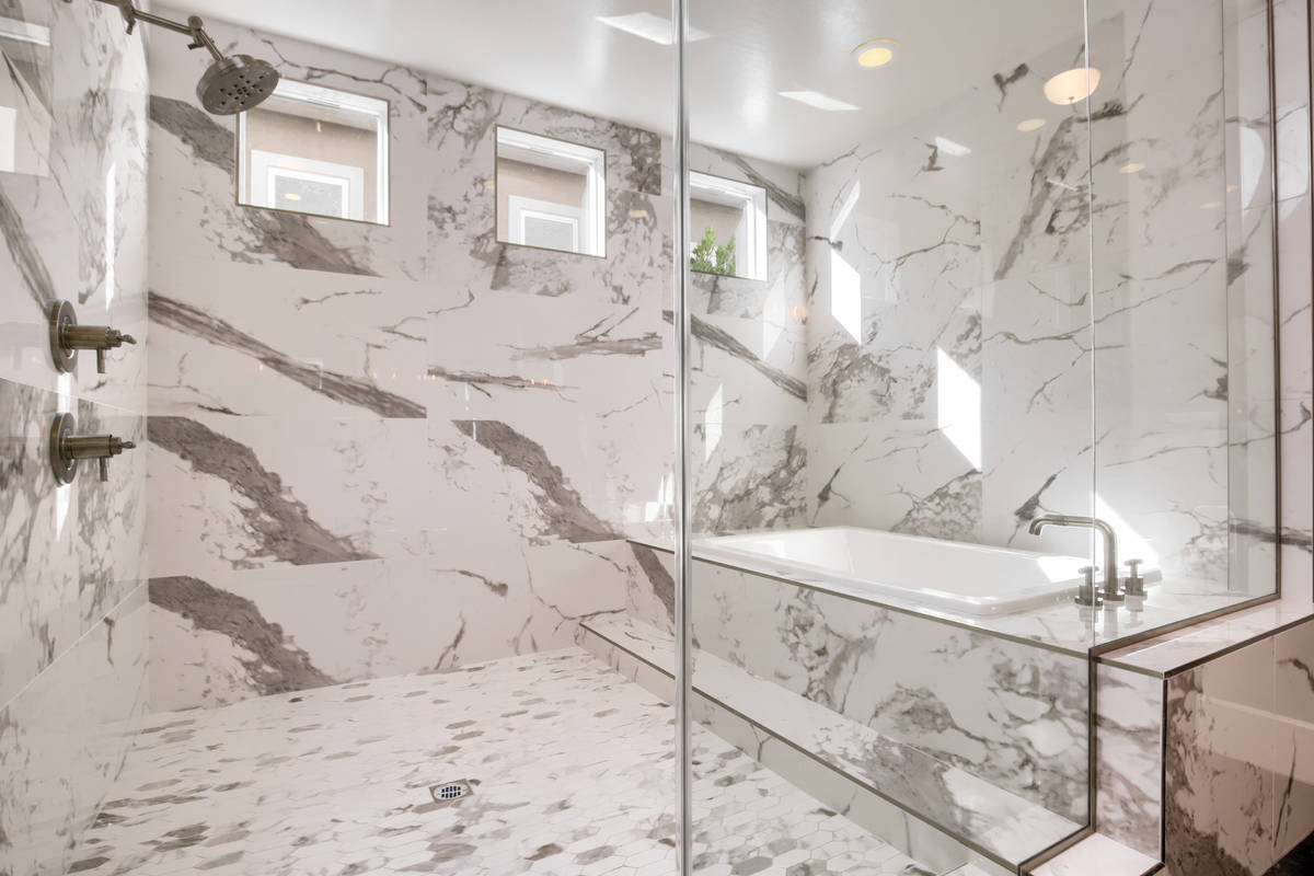 The master baths are important in luxury home design. (Richmond American)