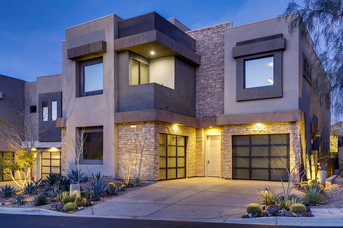Damarious Randall's Henderson home was was built in 2014 and measures 3,401 square feet. (eXp R ...