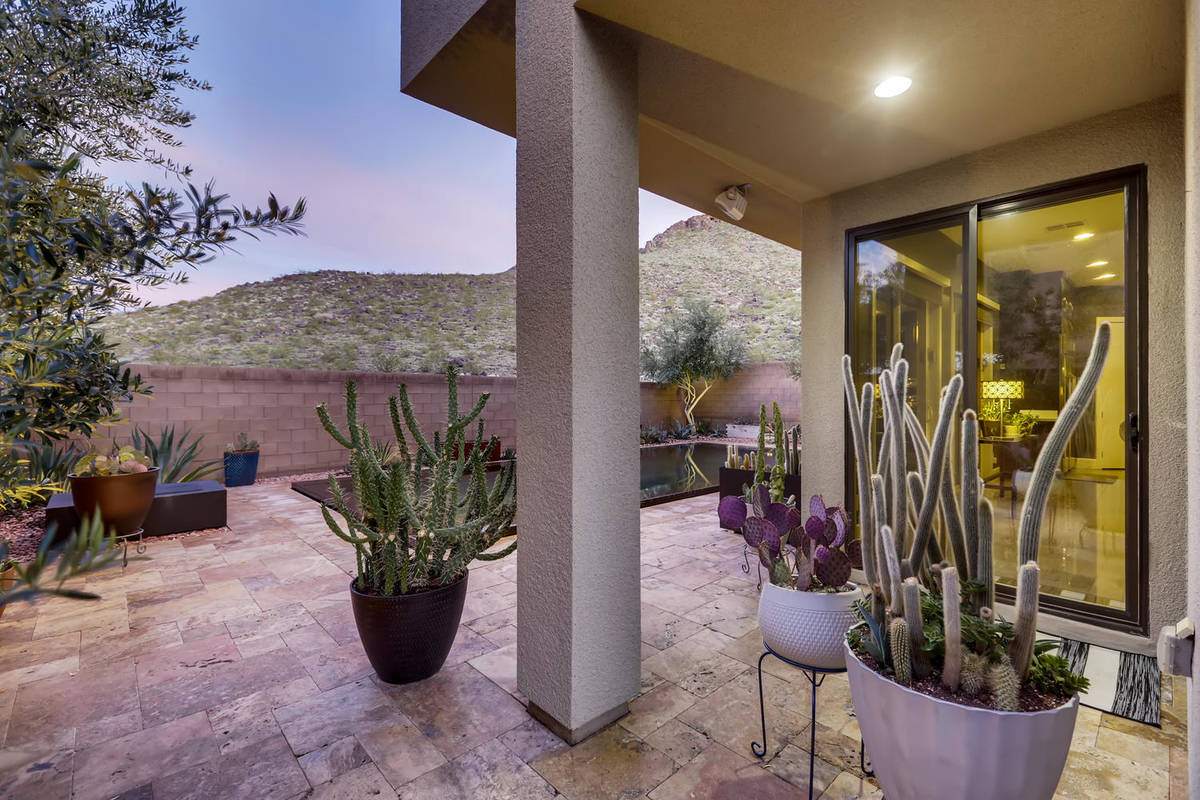 Raiders Safety Damarious Randall purchased a Henderson home to be close to the team's new hea ...