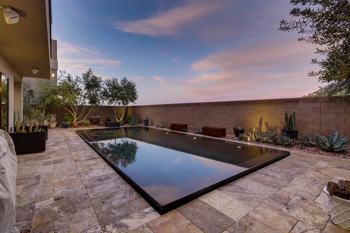 The Raiders' Damarious Randall's Henderson home has a pool. (eXp Realty)