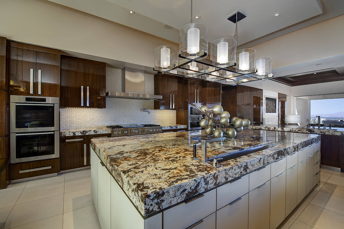 The kitchen. (Synergy Sotheby's International Realty)