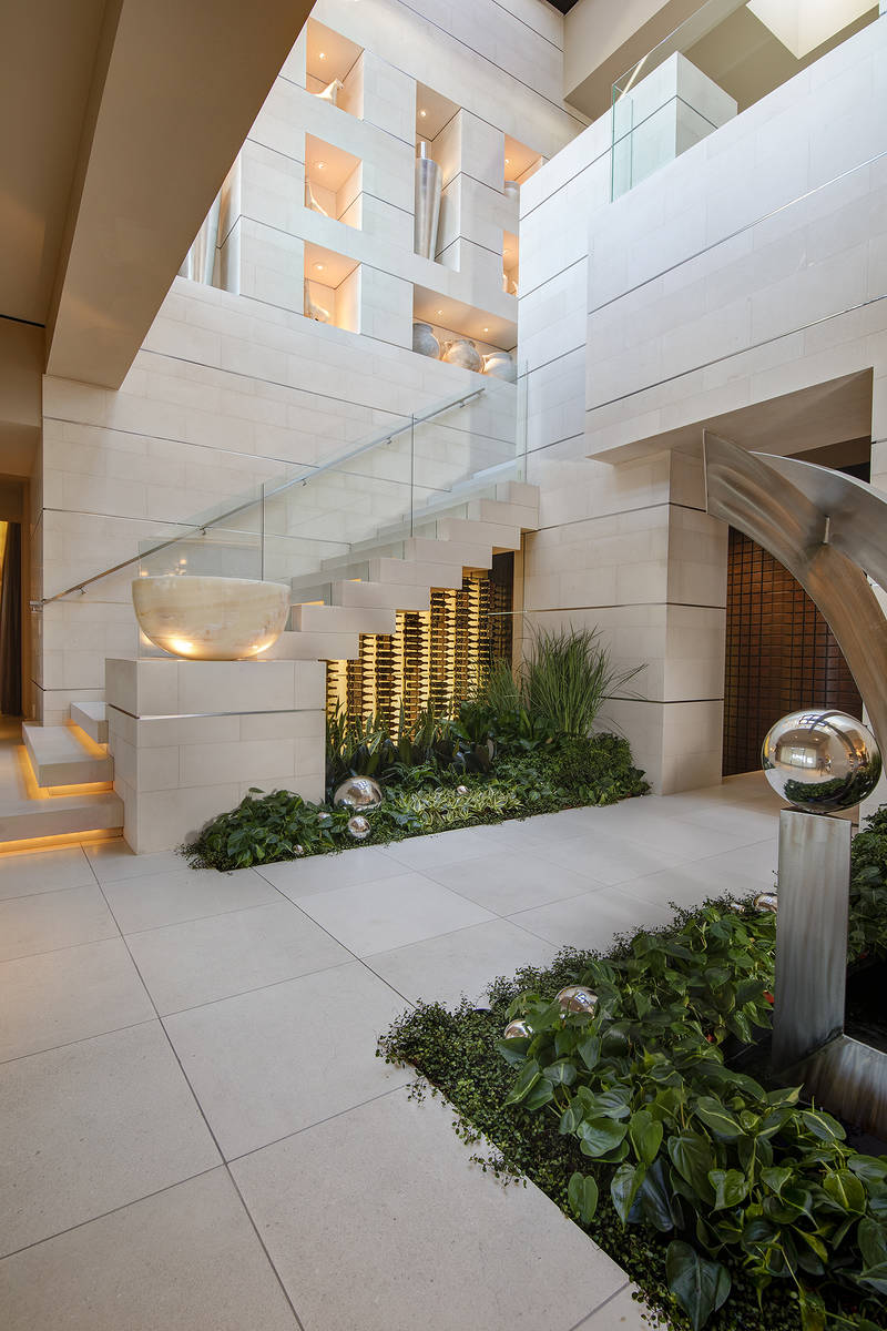 The entrance to the wine cellar. (Synergy Sotheby's International Realty)