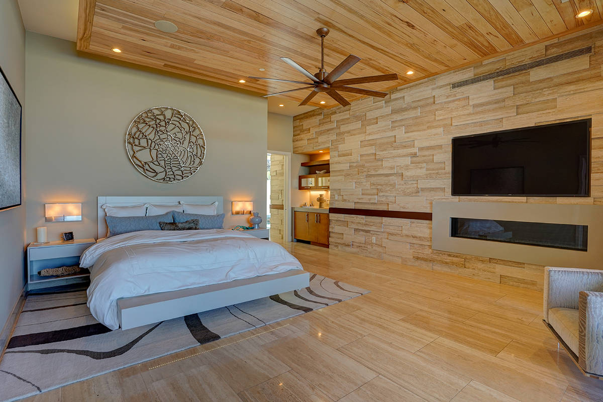 The home has six bedrooms. (Sun West Custom Homes)