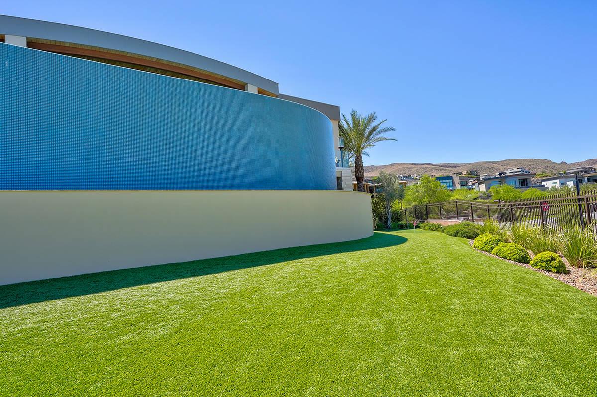 The home has a massive pool. (Sun West Custom Homes)