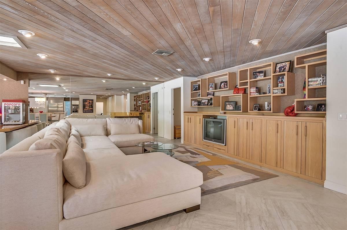 The home has an open floor plan. (Nartey Wilner Group)