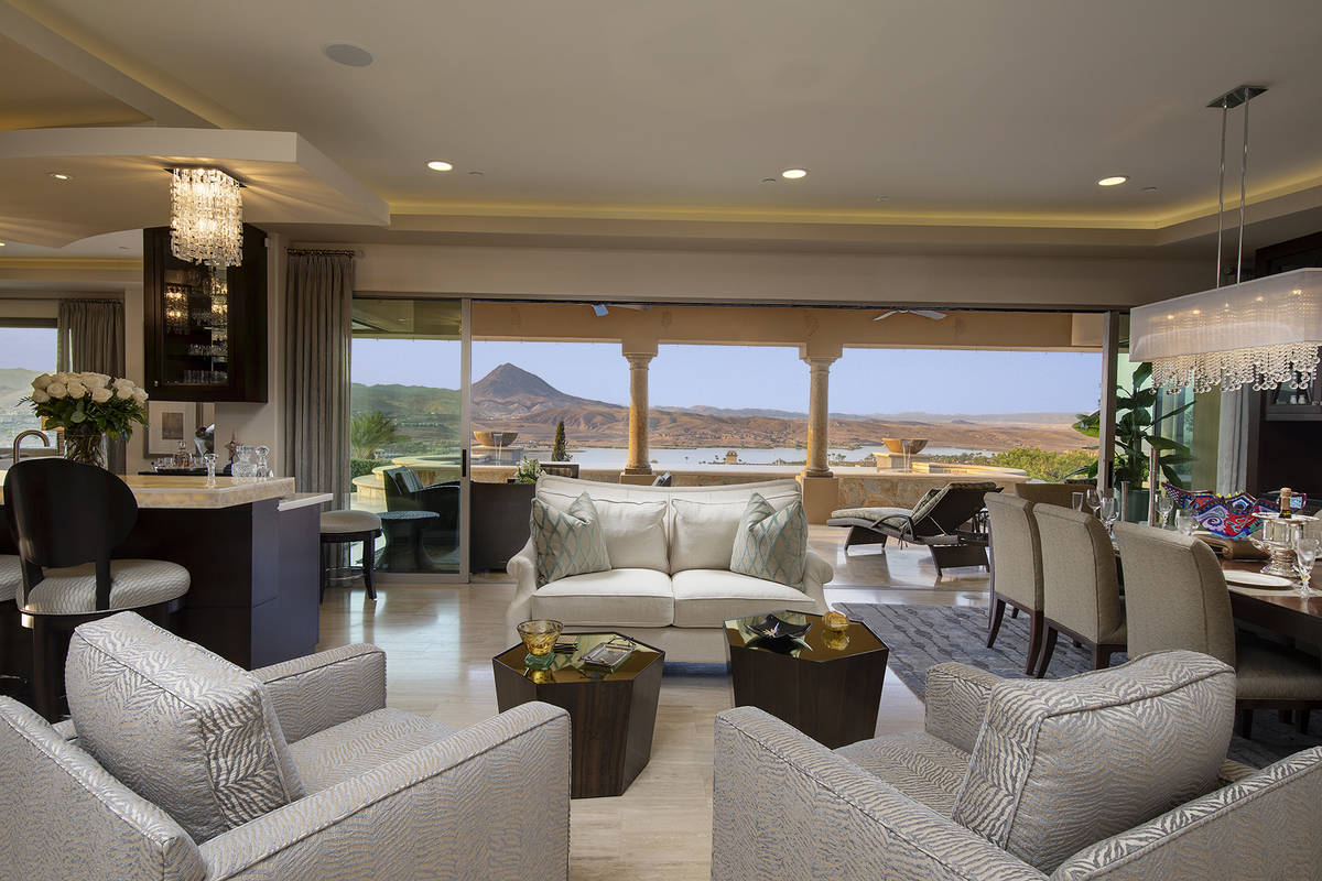 The living room. (Synergy Sotheby's International Realty)