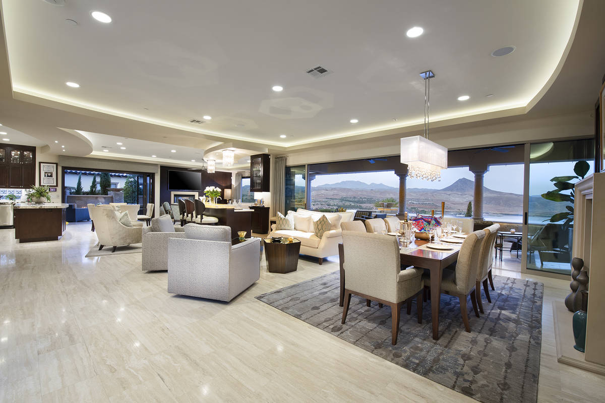 The home has indoor/outdoor living features. (Synergy Sotheby's International Realty)
