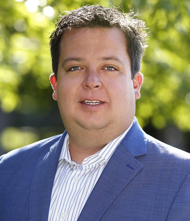 Bryan Wachter, senior vice president of Retail Association of Nevada. (Cathleen Allison/Nevada ...