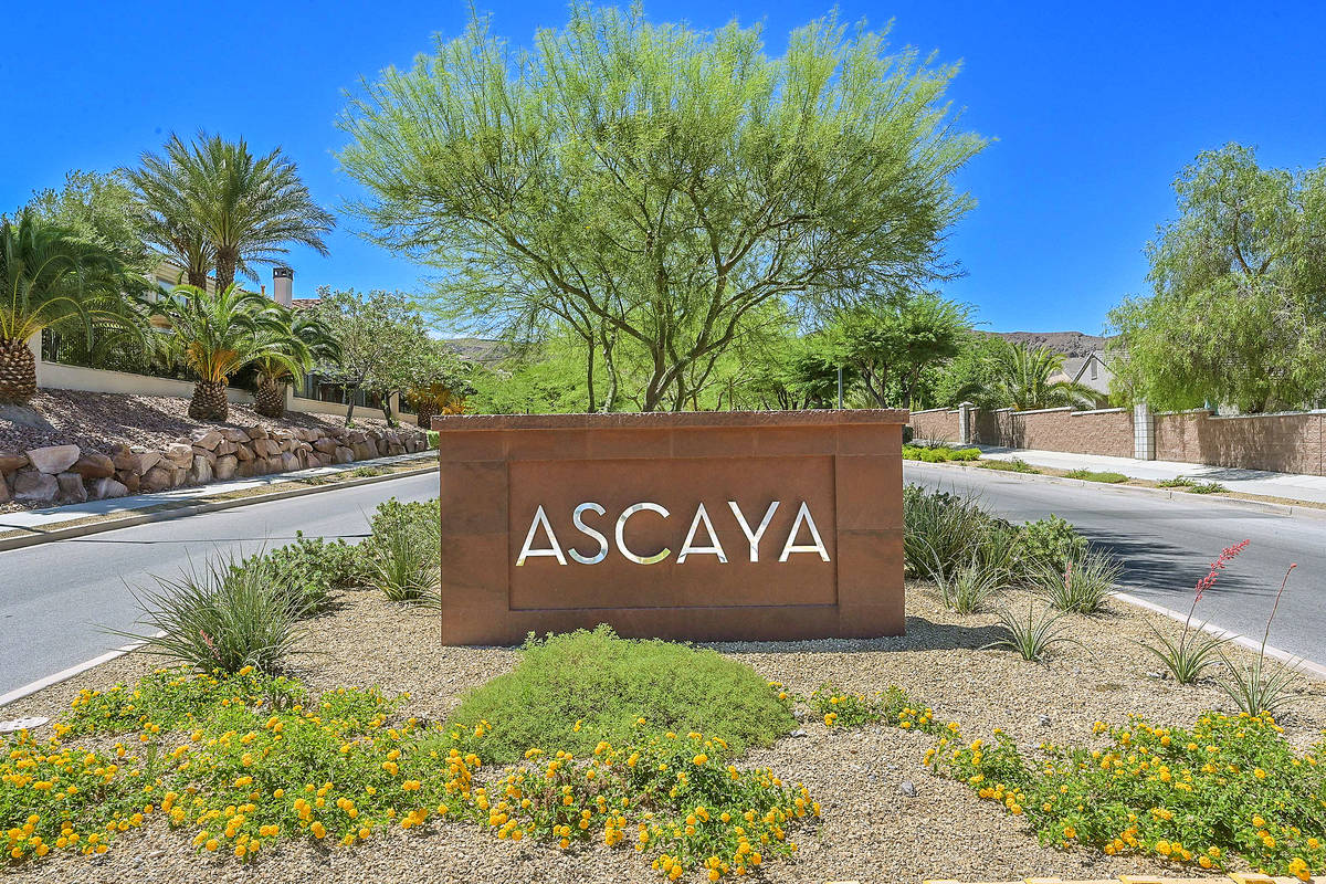 Ascaya is in Henderson. (Huntington and Ellis)