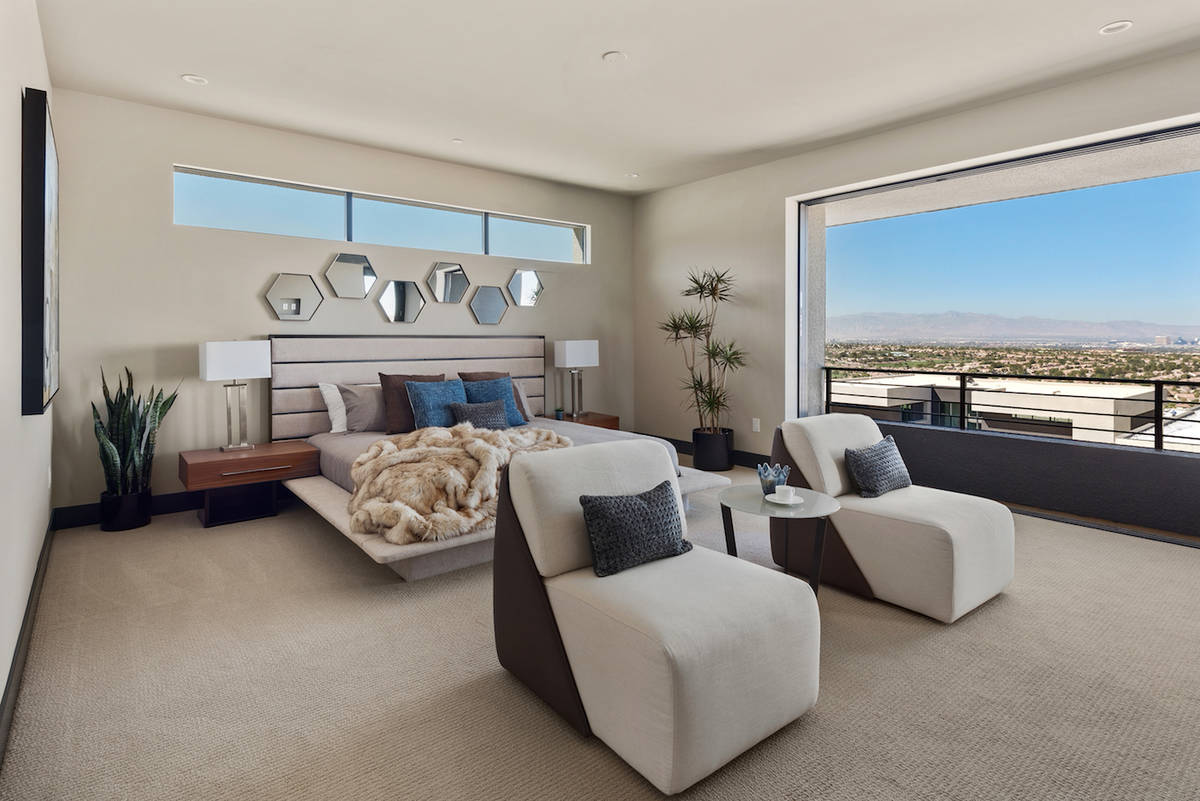 Blue Heron's Obsidian community in Henderson offers new homes priced over $1 million. (Blue H ...