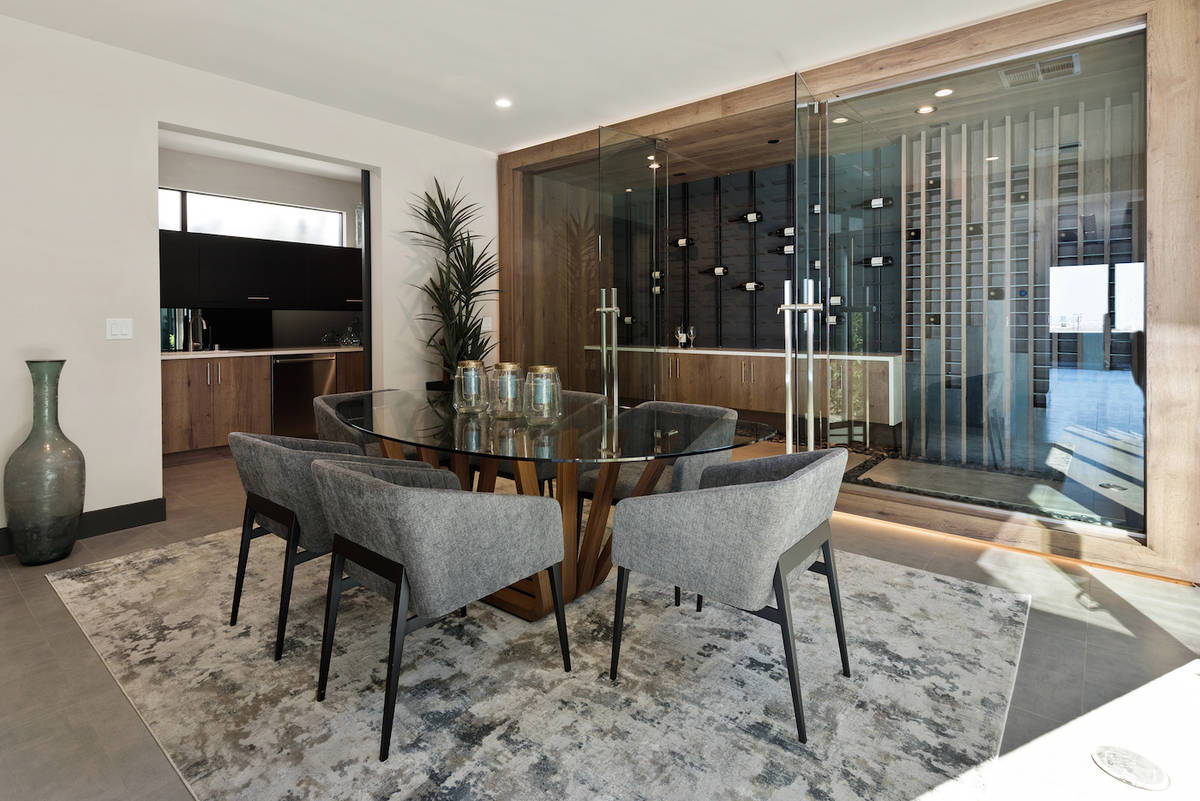 Blue Heron's Obsidian community features the Apex home design has a formal dining room. (Blue ...