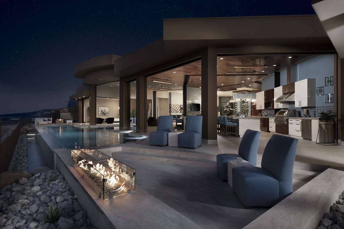 The luxury custom builder won three Silver Nuggets for its 2020 New American Home in the Hender ...